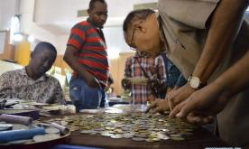 People visit 10th National Numismatic Exhibition in Bangalore, India
