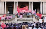 悉尼华侨华人向香港暴乱说不: