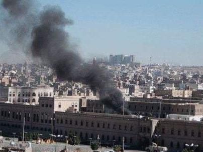 也门国防部一办公地点遭导弹袭击 至少7人死亡