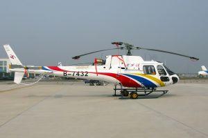 华西村直升机