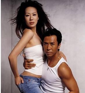 甄子丹与妻子