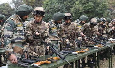 Joint China-India counter-terrorism training starts in Chengdu