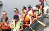 端午未到船先动 独墅湖上龙舟训练开始了