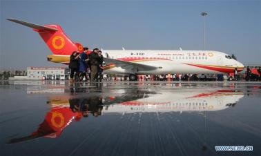 China's civil aviation industry aims high