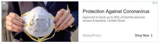 谷歌禁止利用新冠疫情制造恐慌打广告 已开始移除违规商品