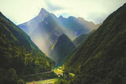 巴山大峡谷