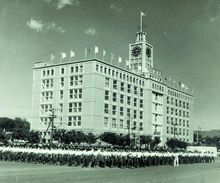 1959年国庆时的电报大楼