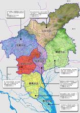 广州行政区图