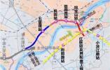 地铁2号线二期有新进展 5个站点分两段不同步开通