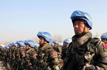 """""""维护世界和平的中国军队""""主题展览走进非盟总部"""