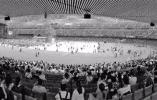 杭州奥体博览中心体育场的首次个唱昨天亮相