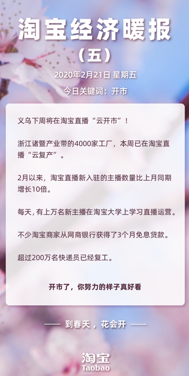 """暖报!下周,义乌将上淘宝直播""""云开市""""!"""