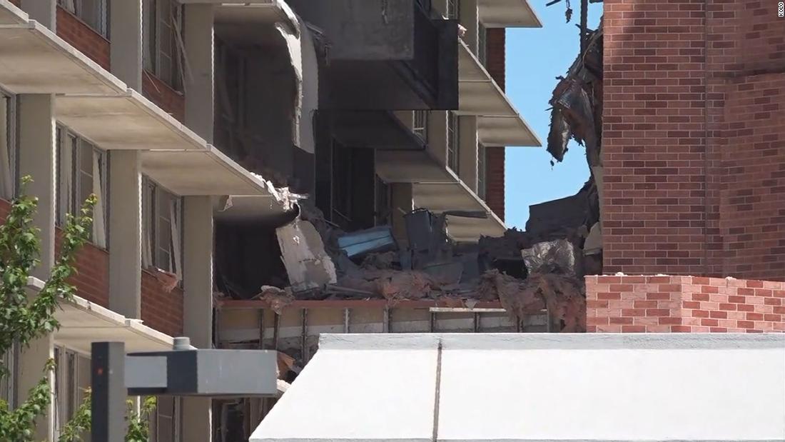 美国一大学爆炸致宿舍楼倒塌 学生回忆
