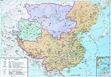 1424年明朝疆域