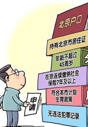 北京积分落户制