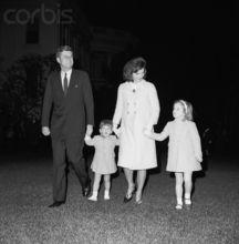 肯尼迪与家人