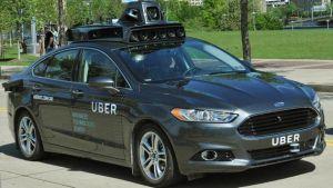 首批提供无人驾驶服务的 Uber 车辆