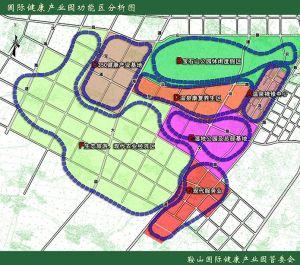 鞍山健康产业园功能分区规划