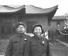 曹玉清将军与夫人