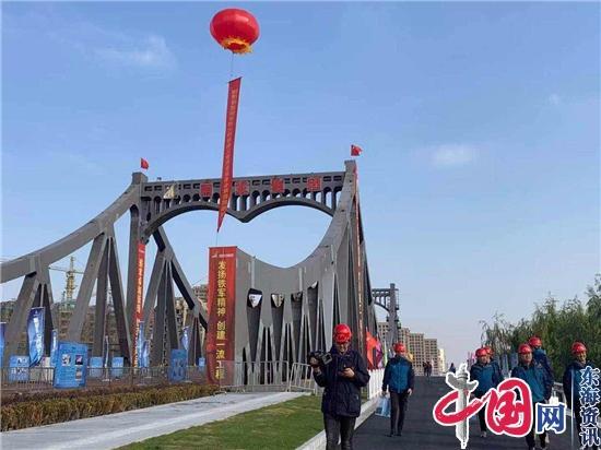 江苏省建设工程质量监督总站现场观摩雨发建设集团承建浦云路大桥
