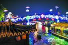 水上灯会首次亮相 第五届江南古运河风情夜游节8月16日开幕