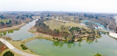 叠溪瀑布一倾而下 杨溪河湿地公园美景初现