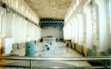 水力发电机房