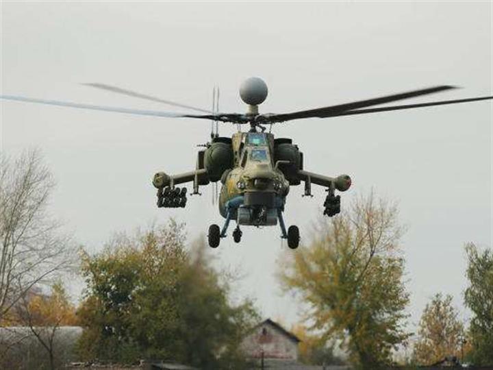 俄制米-28NM武装直升机将配挂新型导弹
