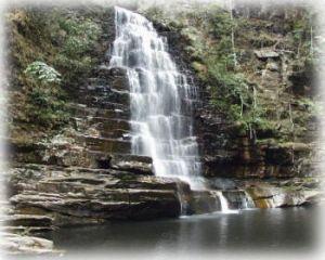 大明山瀑布