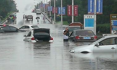 14,000 evacuated as heavy rain lashes northeast China city