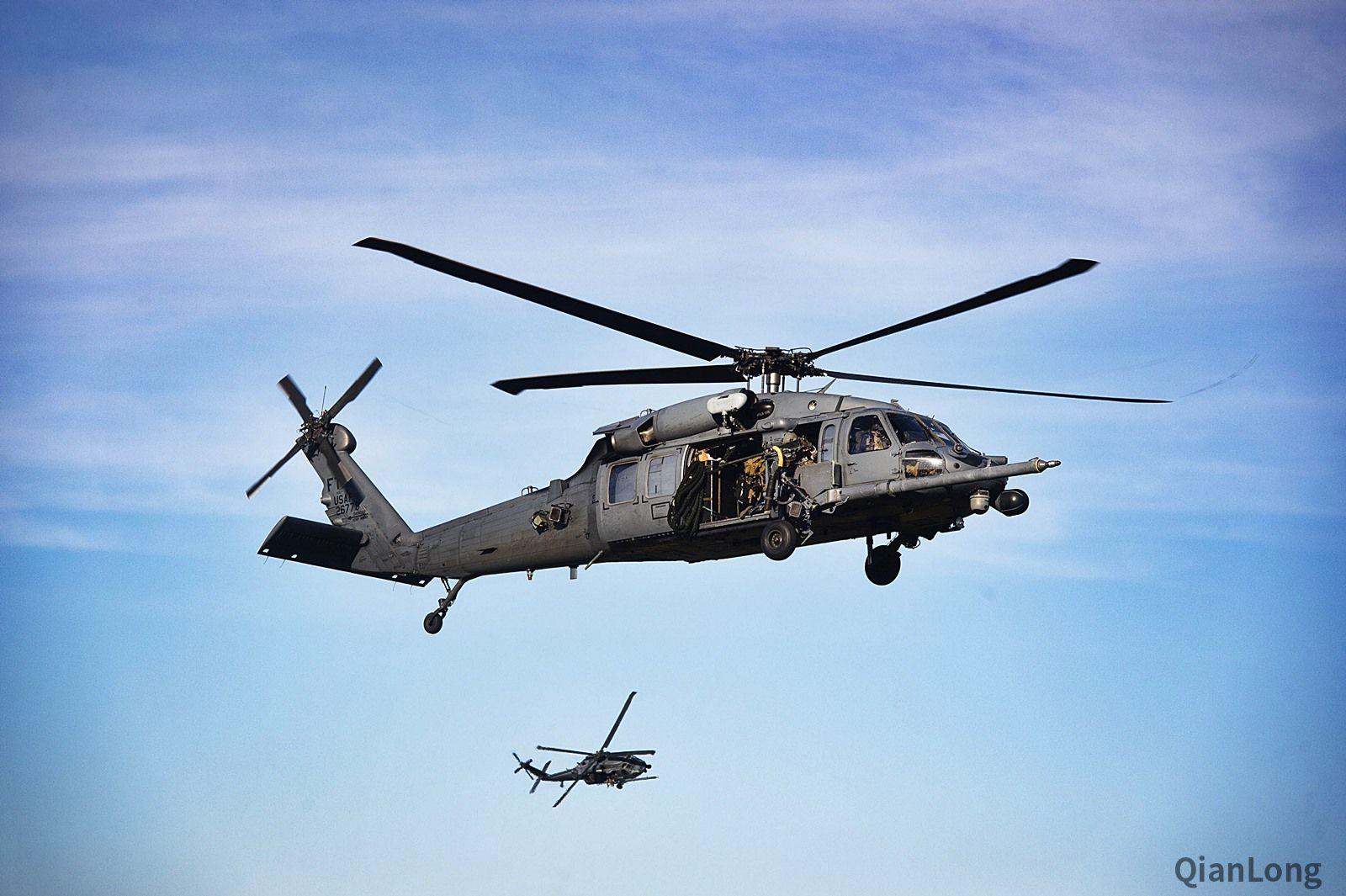 美空军搜索救援中队进行演习