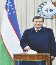 总统:米尔济约耶夫