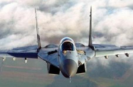 印度海军一架米格—29K战斗机坠毁