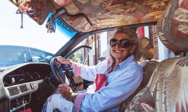 80-year-old granny goes on adventure around Africa