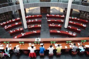 新图书馆内景