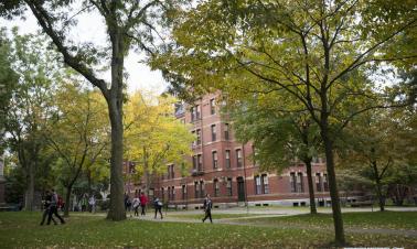 In pics: Campus of Harvard University in Cambridge of Massachusetts, the U.S.