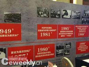 天府可乐历史图片展览