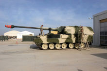 荷兰装备的PZH-2000榴弹炮