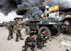 南部军营遭爆炸袭击 菲律宾首都加强警戒