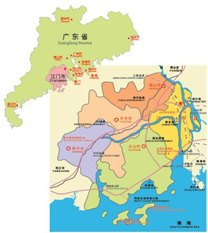 江门行政区划