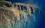 潜水员14年来首次造访泰坦尼克号残骸,高清镜头揭示沉船现状