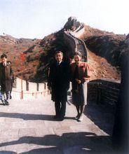 1992年10月明仁天皇夫妇访华
