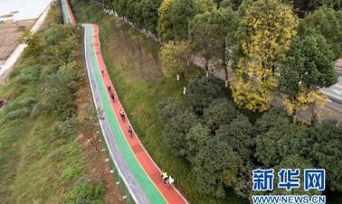 Mixed-use path by Yangtze River opens in Chongqing