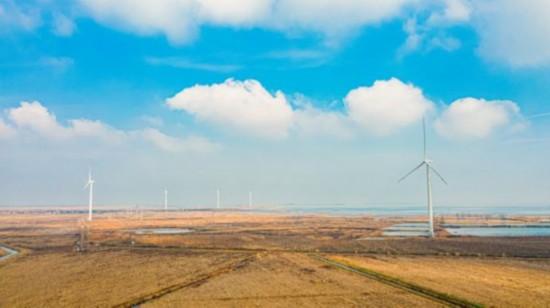 江苏泗洪:风力发电助力乡村振兴