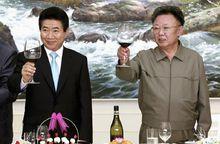 卢武铉与朝鲜领导人金正日