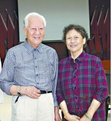 黄旭华和妻子李世英