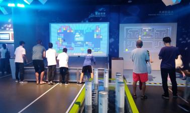 Young players visit China Soong Ching Ling Science and Culture Center for Young People