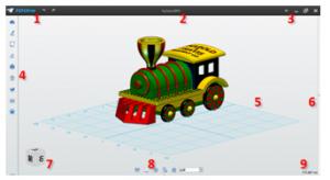 3DOne操作界面