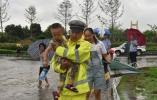 理上网来|战台风抗洪灾,我们每个人都是一座堤坝