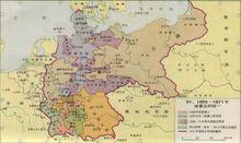 普鲁士统一德意志后的地图